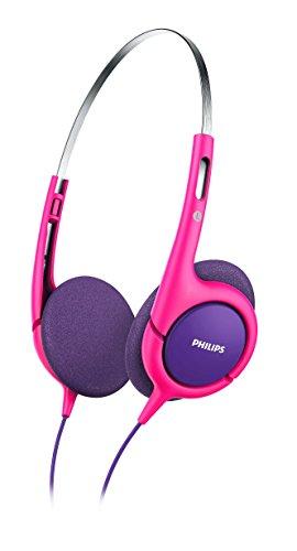 Philips SHK 1031 Leichtkopfhörer für Kinder pink (Maximale Lautstärke auf 85dB begrenzt)