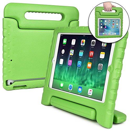 Cooper Cases(TM) Dynamo iPad Mini / 2 / 3 Hülle für Kinder in Grün + Frei Displayschutzfolie (Leicht, ungiftiger EVA-Schaum, haltbares Design, Extraschutz, Freier Stand)