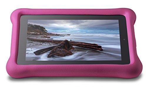 Amazon FreeTime Kindgerechte Hülle für Fire (7-Zoll-Tablet, 5. Generation - 2015 Modell), Pink