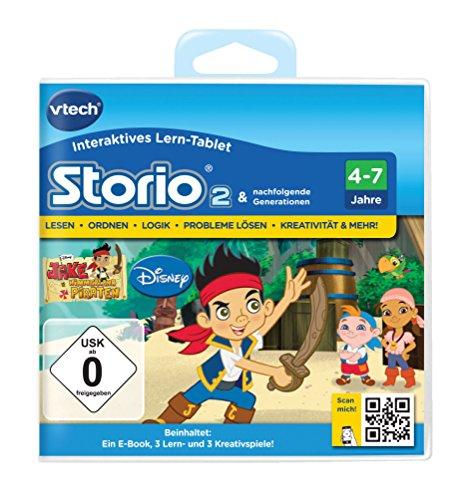 VTech 80-231604 - Lernspiel Jake und die Nimmerland Piraten (Storio 2, Storio 3S)