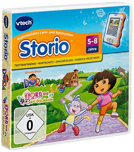 VTech 80-280904 - Lernspiel Dora (Storio, Storio 2, Storio 3S)