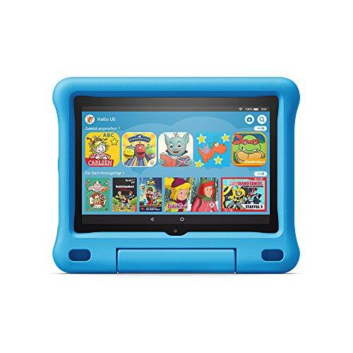 Das neue Fire HD 8 Kids Edition-Tablet, 20,3 cm (8 Zoll) HD Display, 32 GB, blaue kindgerechte Hülle
